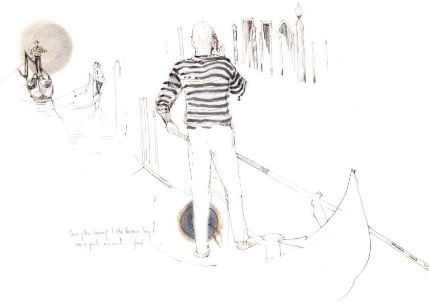 joannalayla modern gondolier meets pierrot