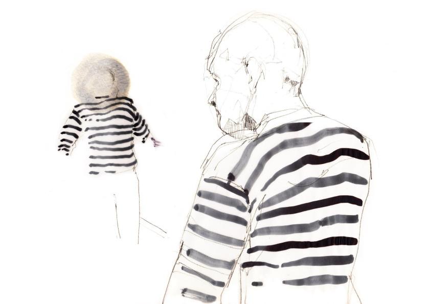 joannalayla modern gondolier stripes