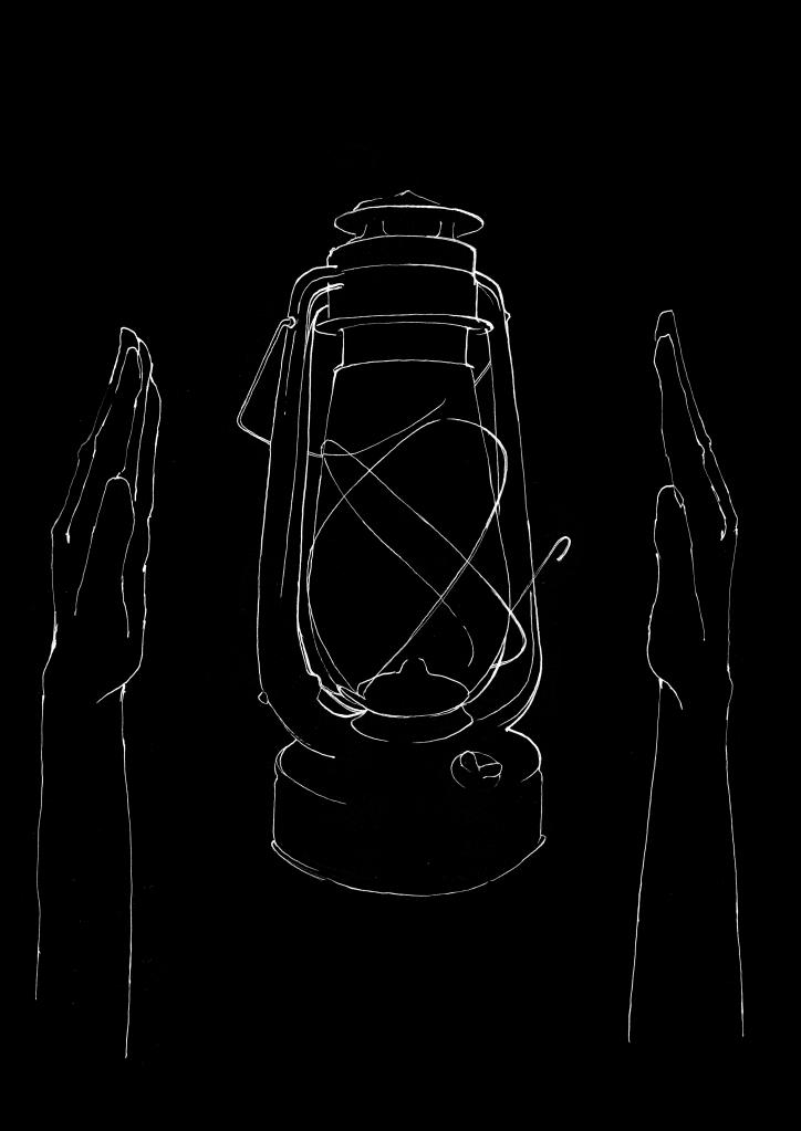 joannalayla_kerosene lamp with hands