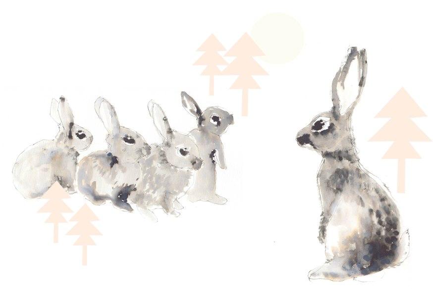 joannalayla christmas rabbit family tree