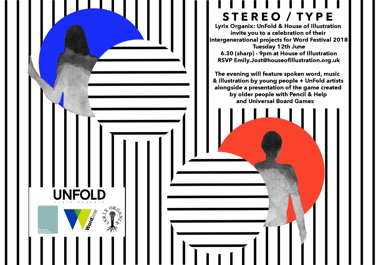 Stereotype_Lyrix Organix x House of Illustration_invite_version2
